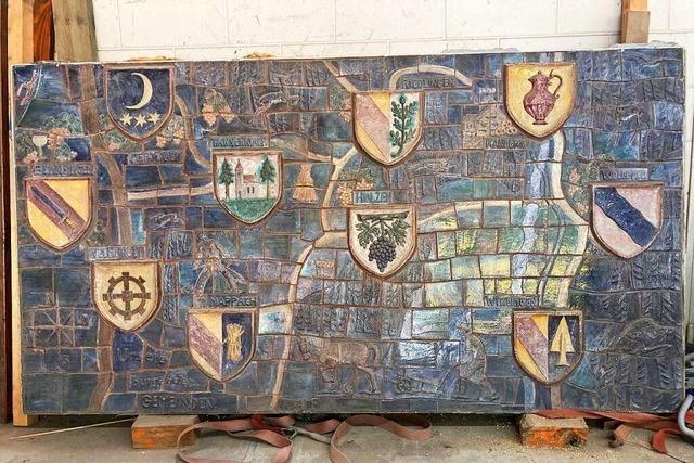In Kandern lagern viele Keramiken ortsansässiger Künstler im Bauhof