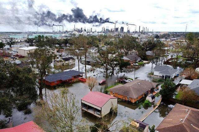 Katastrophale Schäden nach Hurrikan