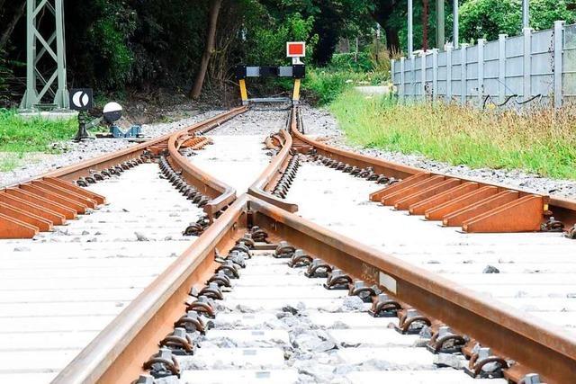 Franzosen machen Tempo für die Bahnlinie Colmar-Freiburg