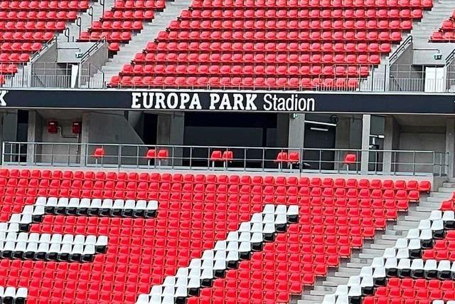 Der SC Freiburg spielt künftig im Europa-Park-Stadion