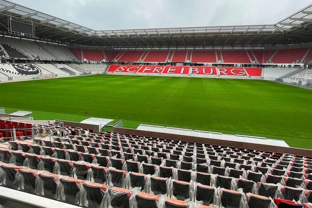 Das erste Heimspiel im neuen Zuhause f...ktober statt – gegen RB Leipzig.  | Foto: Joachim Röderer