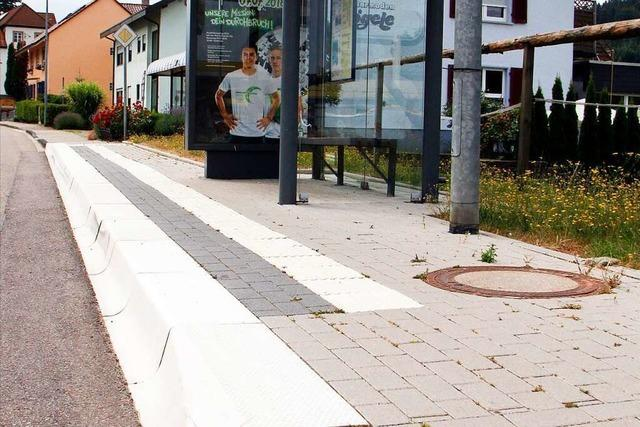 Weitere Bushaltestellen an den Kreisstraßen der Ortenau werden barrierefrei