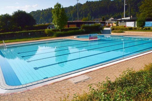 Das Freibad in Schwörstadt ist geschlossen