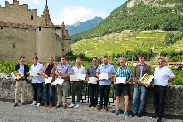 WG Britzingen holt beim Weinwettbewerb in der Schweiz dreimal Gold