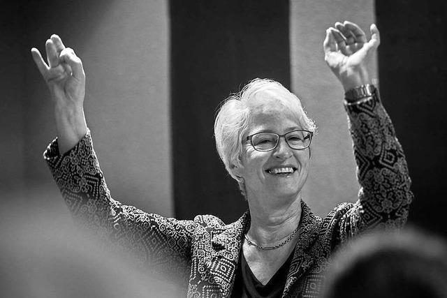 Trauer um Querbeet-Dirigentin und PH-Professorin Mechtild Fuchs