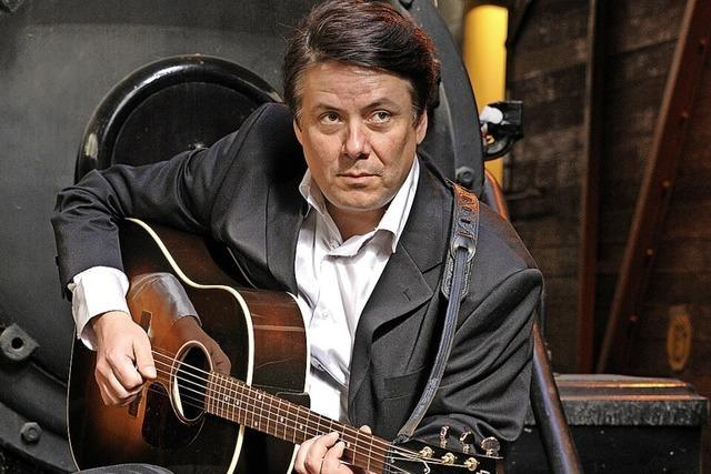 Zum Finale im Weinstetter Hof spielt M. Soul Johnny Cash-Songs