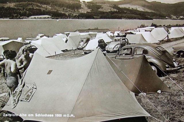 Vor 70 Jahren wurde am Schluchsee schon gecampt