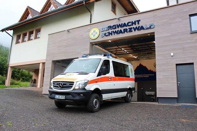 Die Bergwacht Wieden hat nun endlich eigene Räume