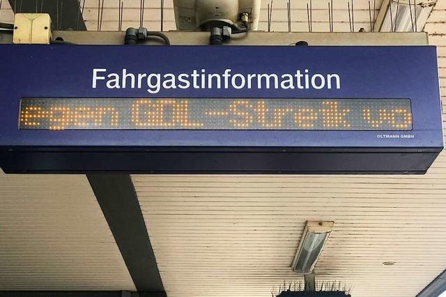 Streik bei der Bahn: Was tun, wenn der Zug nicht fährt?