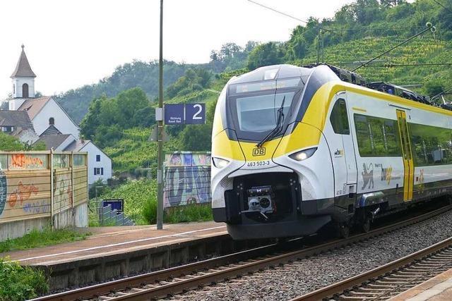 Zu lange Züge sorgen für Ärger auf der Oberrheinstrecke