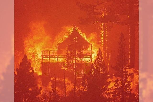 Brände bedrohen Lake Tahoe