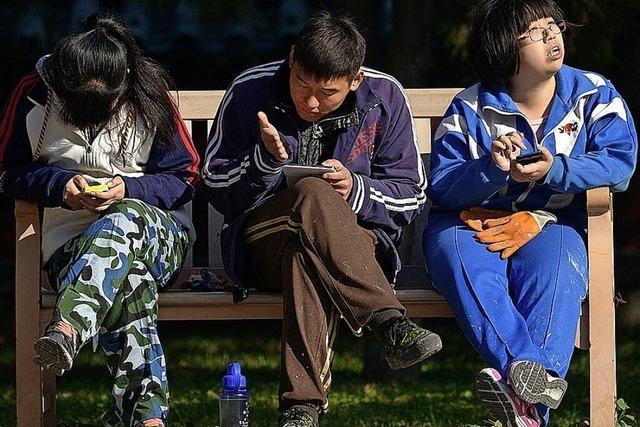 Keine Computerspiele für Chinas Jugend