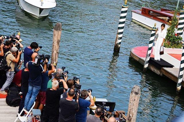 Das Filmfestival von Venedig beginnt