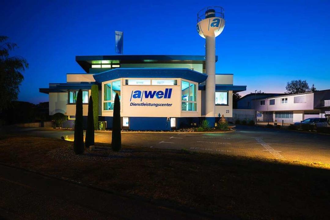 Die Firmenzentrale von awell in Breisach  | Foto: algeb awell GmbH