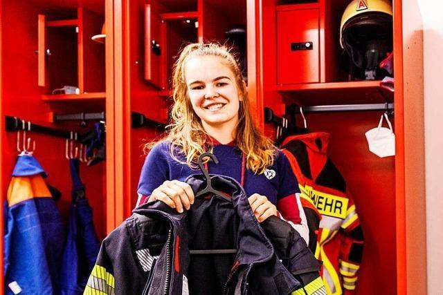Vanessa Lodwitz ist die erste Frau bei der Feuerwehr Pfaffenweiler