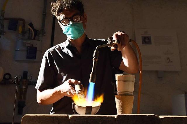 Goldschmiede nutzen Techniken, die bis in die Eisenzeit zurückreichen