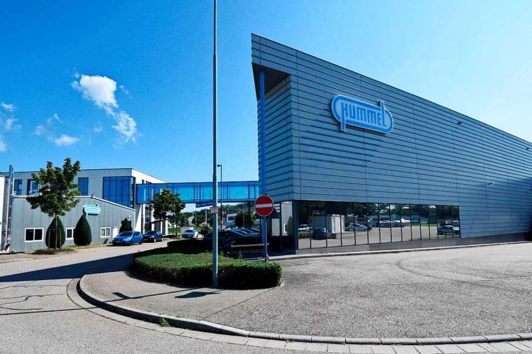 Das Firmengebäude der Hummel AG in Denzlingen   | Foto: Markus Zimmermann