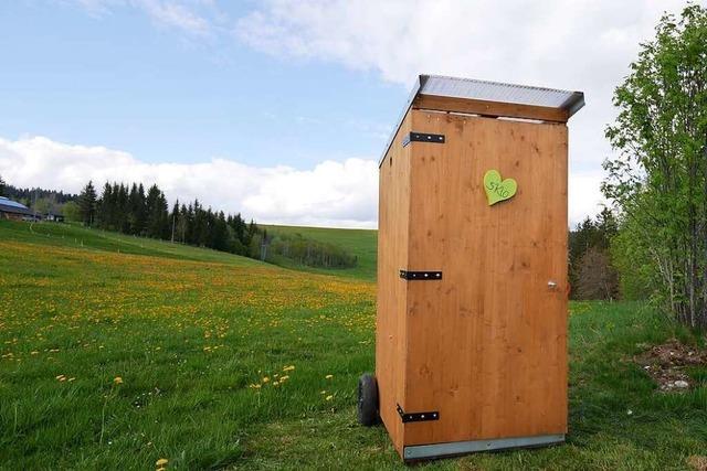 Großes Geschäft: Im Schwarzwald entstehen Plumpsklos ohne Chemie