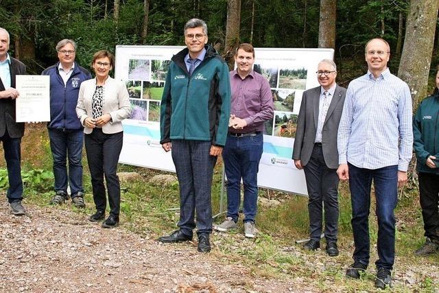 Millionen für Wegebau und Naturschutz