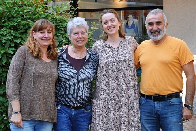 Vier Einzelhändler wollen in Badenweiler das Geschäft beleben