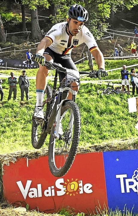 Unter den Weltbesten: Der Breitnauer M...aft der E-Mountainbiker in Val di Sole  | Foto: Team