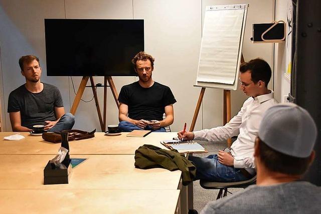 Grünen-Kandidat Schmitt will sich für junge Firmengründer stark machen