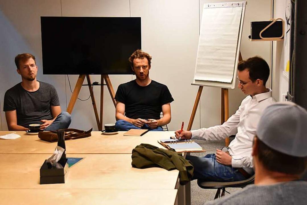 Was die Menschen in der Gründerszene b...s Gundelfinger Startups Eeaser wissen.    Foto: Sebastian Krüger