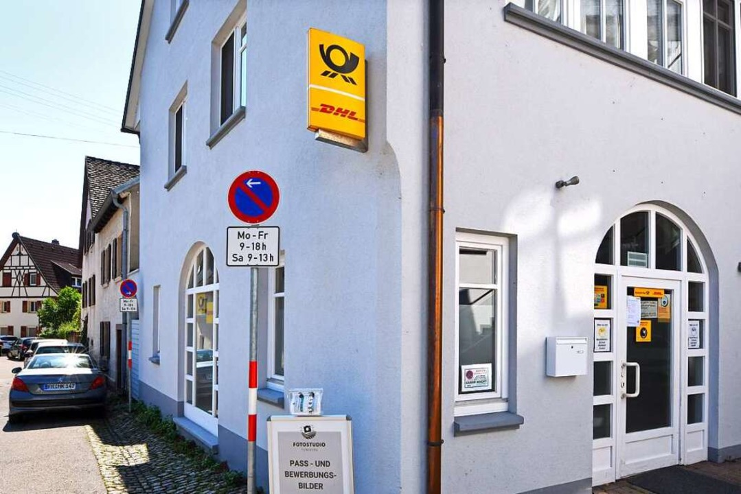 In Opfingen befindet sich die Postfiliale jetzt im Burgweg 2.    Foto: Michael Bamberger