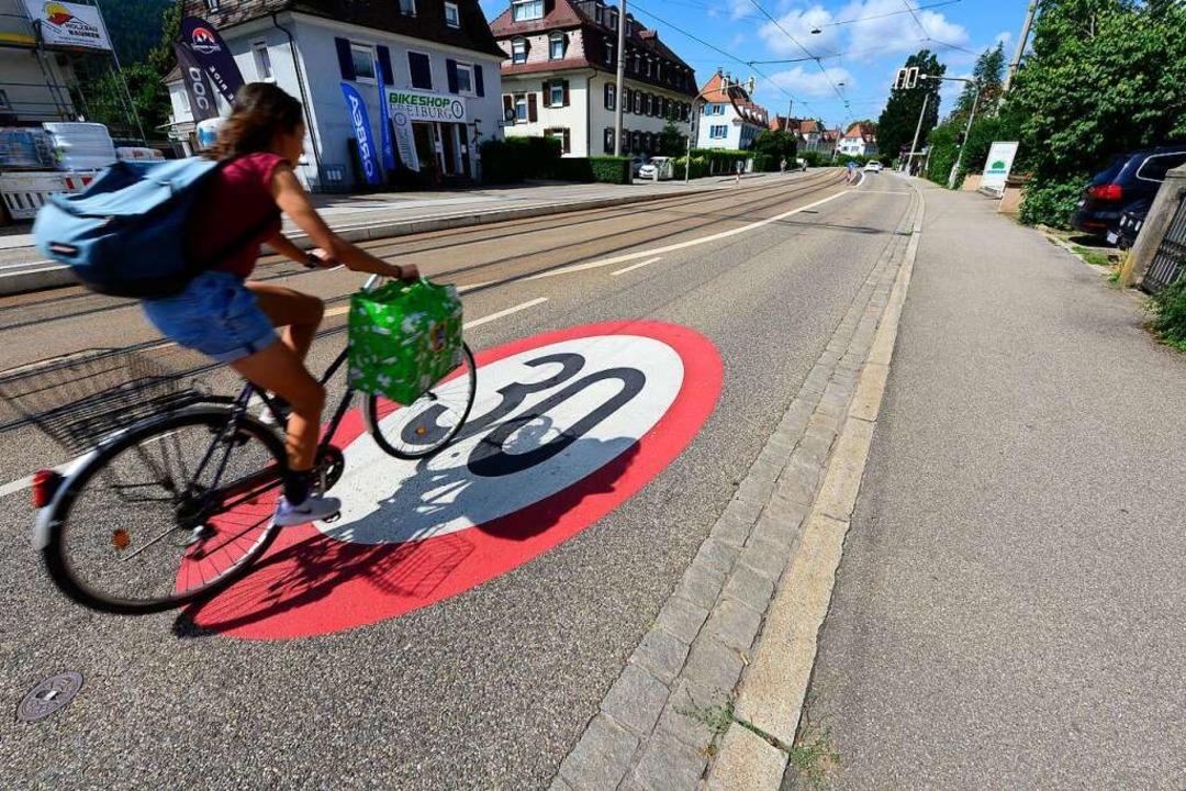 Vorrang für den Radverkehr  | Foto: Ingo Schneider