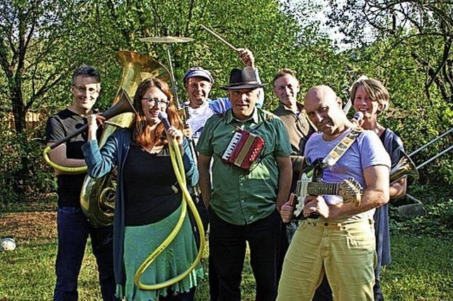 Die Neue wunderbare Band aus Freiburg spielt im Haferkasten