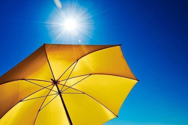 Im August gab es an der Wetterstation Schwörstadt nur drei Hitzetage