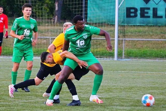 Neue Achse funktioniert bereits prima beim FC Freiburg-St. Georgen