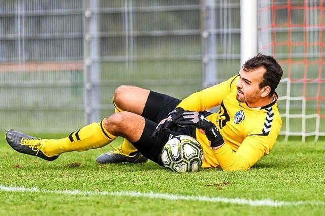 Offenburgs Keeper Jonas Witt ist ein positiv Besessener
