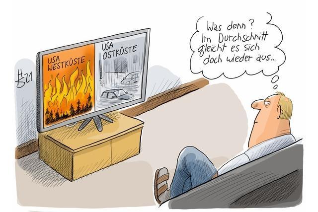 Klima-Ignoranz ist hartnäckig