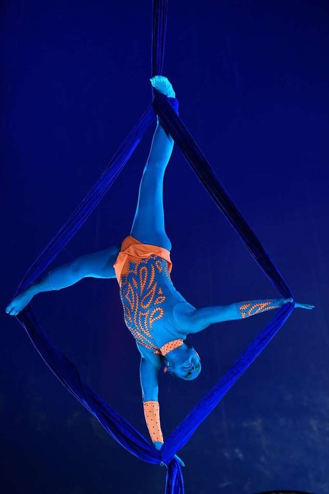 Der Zirkus Alessio in Freiburg  | Foto: Rita Eggstein