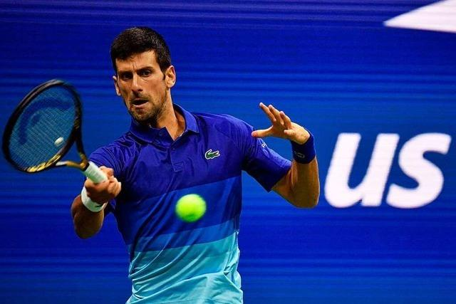 Djokovic erreicht locker die dritte US-Open-Runde