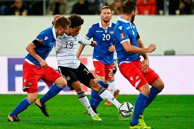 Deutschland gewinnt das erste Länderspiel unter Hansi Flick