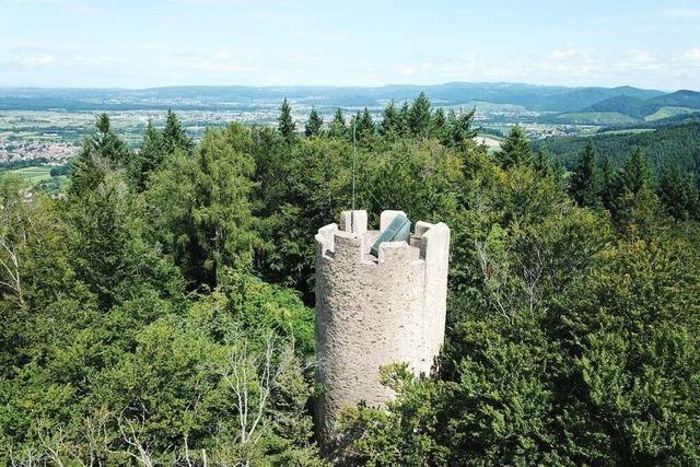 Die Zähringer Burg ist eine kleine Burg mit großer Tradition