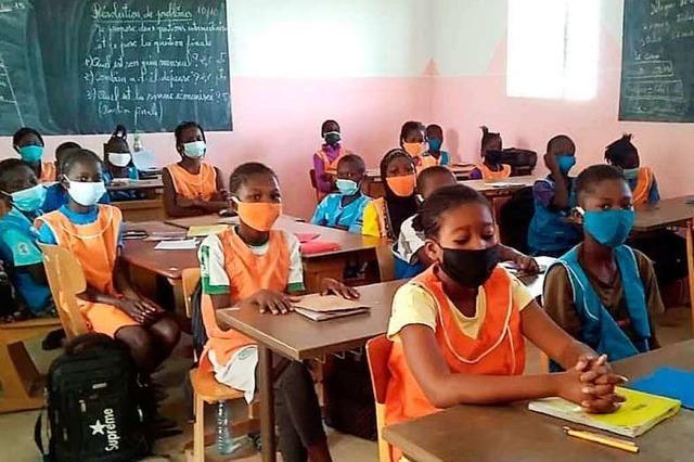 Unterrichtet wird in Kaolack zunächst in der Muttersprache Wolof