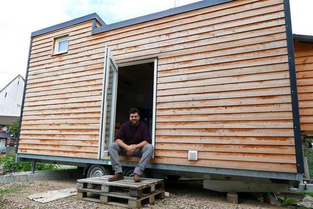 Niedereggener erfüllt den Traum vom kleinen Haus