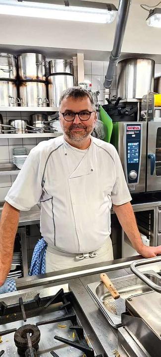 Chef des Hotels und des Restaurants Rebstock: Hermann Brutsche  | Foto: Privat