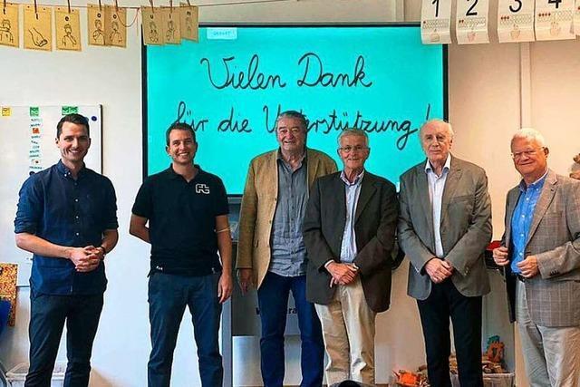 Eugen-Martin-Stiftung spendet weitere 6000 Euro für Freiburger Sportgrundschule