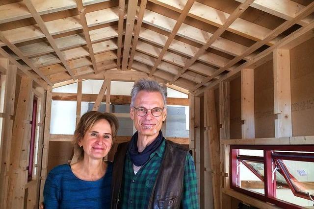 Bad Säckinger Schreiner baut kompostierbares Tiny-House