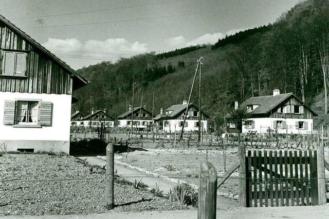 Die Homburg-Siedlung in Lörrach zeigt, wie Städte Hunger und Not begegnen wollten