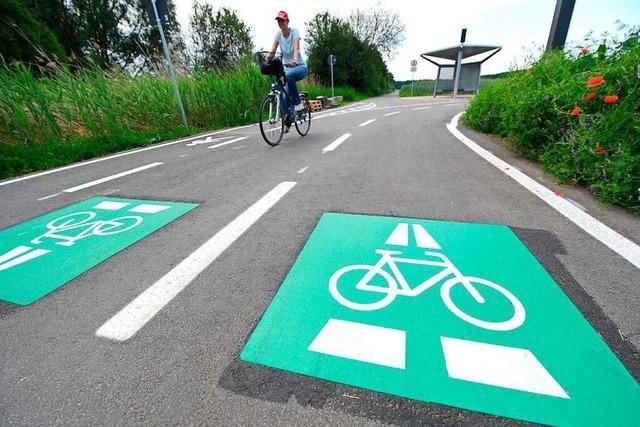In Südbaden ist ein ganzes Netz von Radschnellwegen geplant