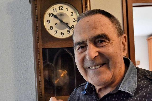 Gebhard Gotterbarm ist seit 60 Jahren Mitglied der SPD in Denzlingen