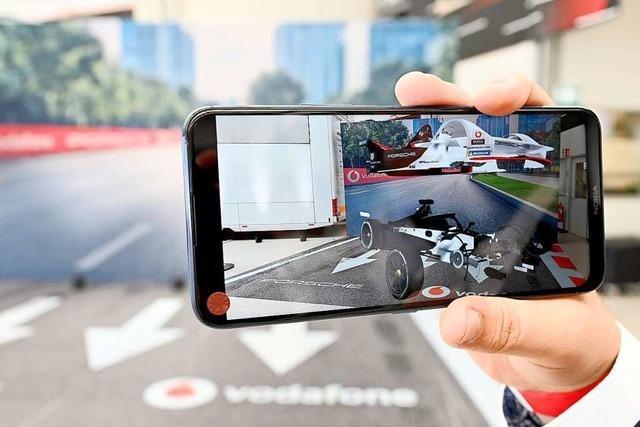Porsche setzt am Entwicklungsstandort Weissach auf den neuen 5G-Mobilfunk