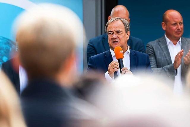 Laschet ruft Union zum Kämpfen in heißer Phase bis zur Wahl auf