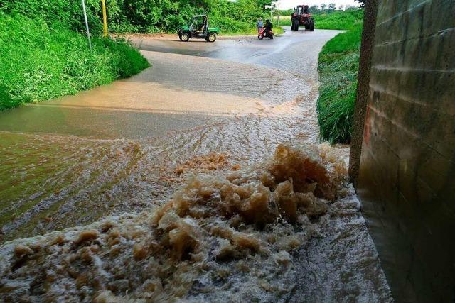 Wie sich Binzen in Zukunft vor Starkregen-Fluten schützen kann