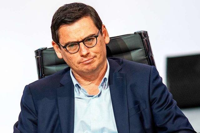 SC-Vorstand Oliver Leki ist der Kämpfer fürs neue Stadion